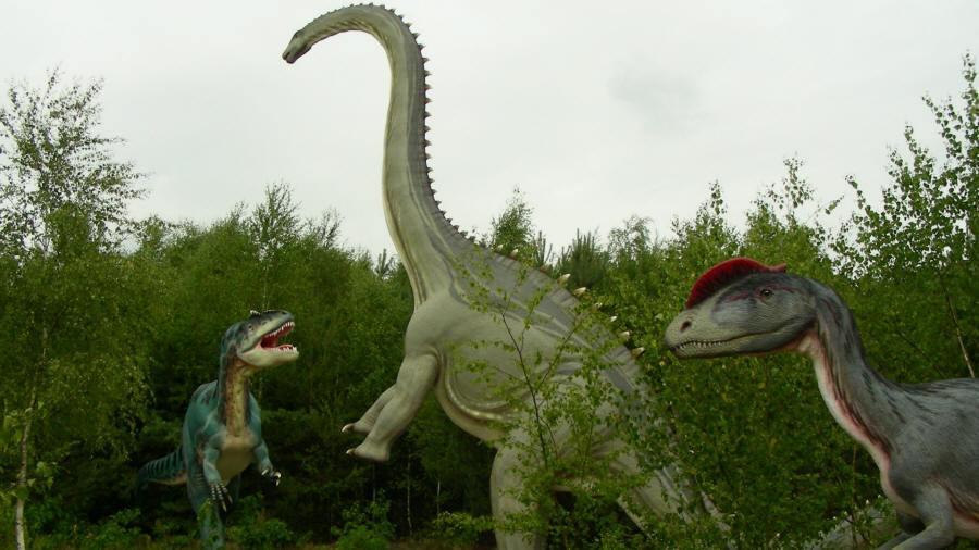 dinozaury ssaki prehistoryczne zwierzęta epoki lodowcowej
